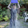 Mark Zuckerberg getting wet