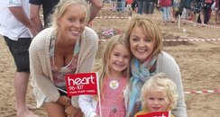 Heart Angels: Croyde Sandcastle Competition 31/08/