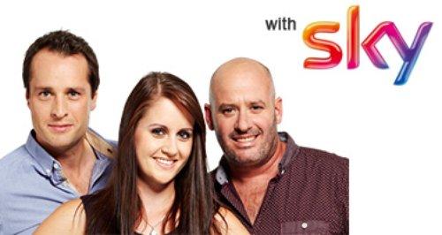 Sky Breakfast Tom, Nicola and Jack DJ