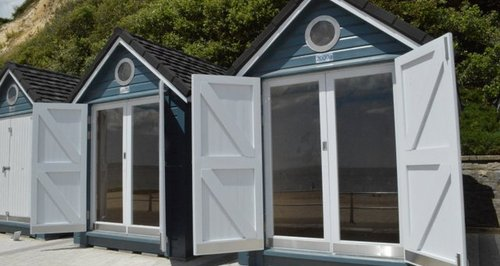 Bournemouth overnight beach huts