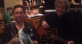 Tom Hiddleston, Mono The Dog and Rodney Crowell