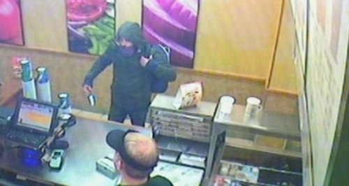 Subway robbery in Winton