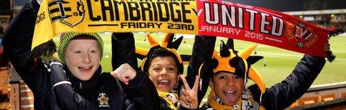 Cambridge United v Manchester United