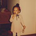 Alicia Keys as a young girl