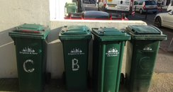 Bins in Brighton & Hove