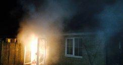 Combden House fire