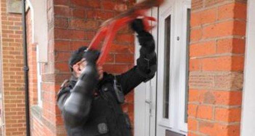 Southampton burglaries raid police