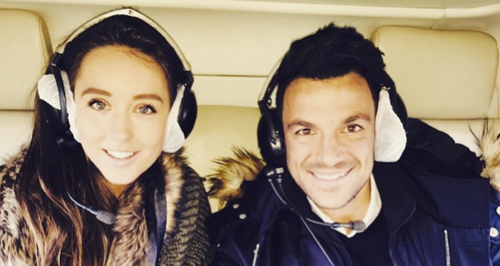 Peter Andre and fiancée Emily MacDonagh