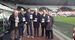 Safe Standing pledge launch at Liberty Stadium