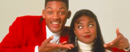 Tatyana Ali and Will Smith