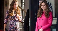 Kate Middleton pregnancy style canvas