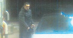 CCTV picture of a man West Midlands Police want to