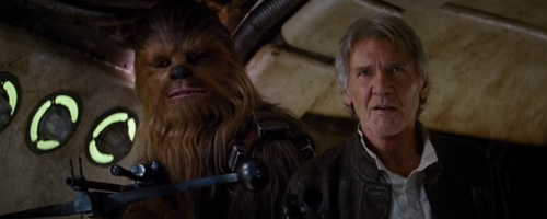 Harrison Ford Star Wars Force Awakens