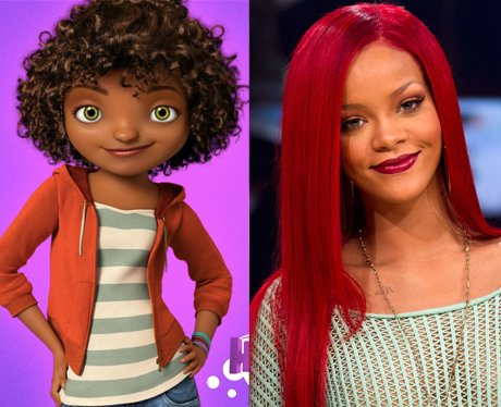 celebrities Animated Characters Voices