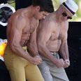 Zac Efron and Robert De Niro topless