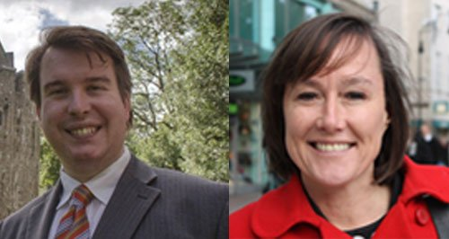 Cardiff MPs Craig Williams & Jo Stevens