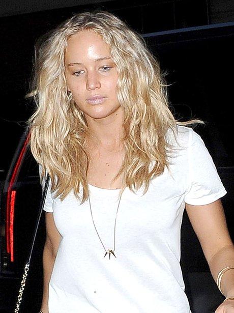 Jennifer Lawrence with no make up