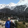 Nepal couple Clive and Heather Wilkinson