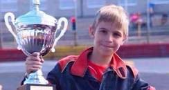 11 year old stock car driver