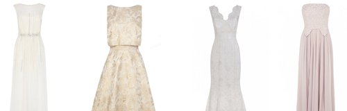 Highstreet wedding dresses canvas