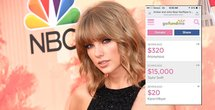 Taylor Swift donates money