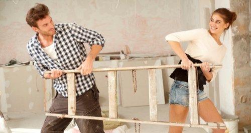 DIY couple