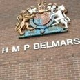 Belmarsh Prison London sign