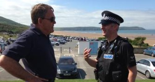 PCC Tony Hogg to leave his post in 8 months
