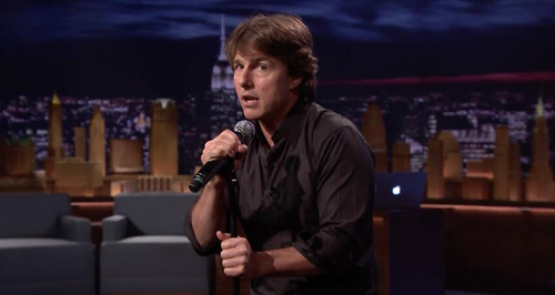 Tom Cruise The Tonight Show Jimmy Fallon