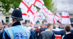 Protest by EDL