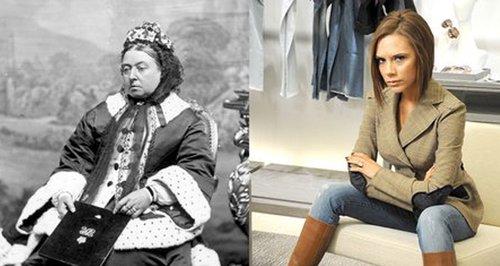 Victoria Beckham or Queen Victoria