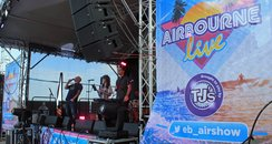 Live Beach Stage - Eastbourne Airboune