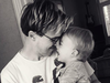 Tom Fletcher and Buzz doting dad
