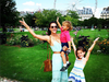 Alessandra Ambrosio and her kids