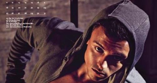 Tom Daley New Calendar (Instagram)