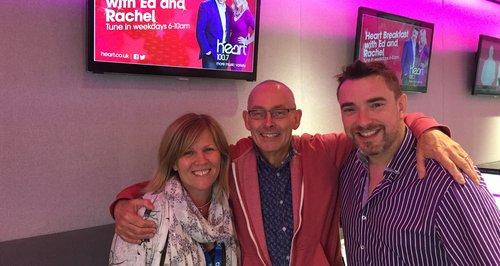 Train Announcer Man with Ed + Rachel