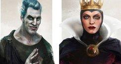 Disney Villains canvas