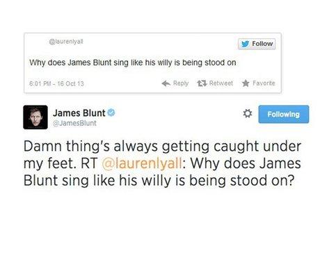 Twitter Trolls: James Blunt