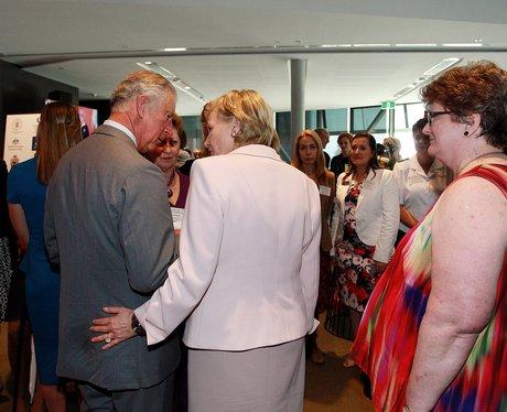 Prince Charles and Janine Kirk