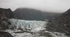New Zealand glacier where helicopter crashed