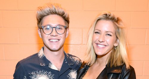 Ellie Goulding and Niall Horan