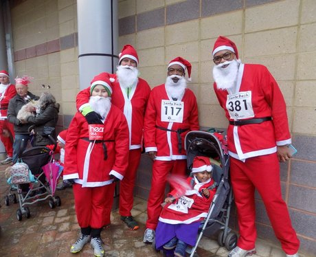 The Hopsice of Francis Santa Dash 2015- Before the