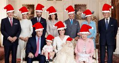 The Royal family at Christmas HEART