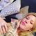 18. Ellie Goulding takes a selfie with her kitten.