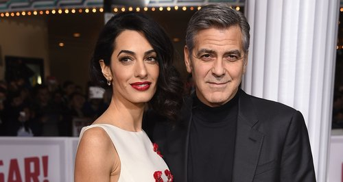 Amal Clooney and George Clooney 'Hail Ceasar!' Pr