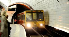 Tyen Wear Metro Train Newcastle