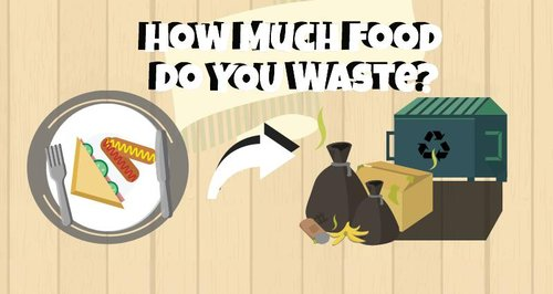 How Much Food Do YOU Waste?