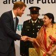 Bidhya Devi Bhandari and Prince Harry