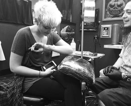Paris Jackson New Tattoo