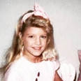 Fergie as a young girl